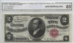1891 Silver Certificate $2 | William Youngerman