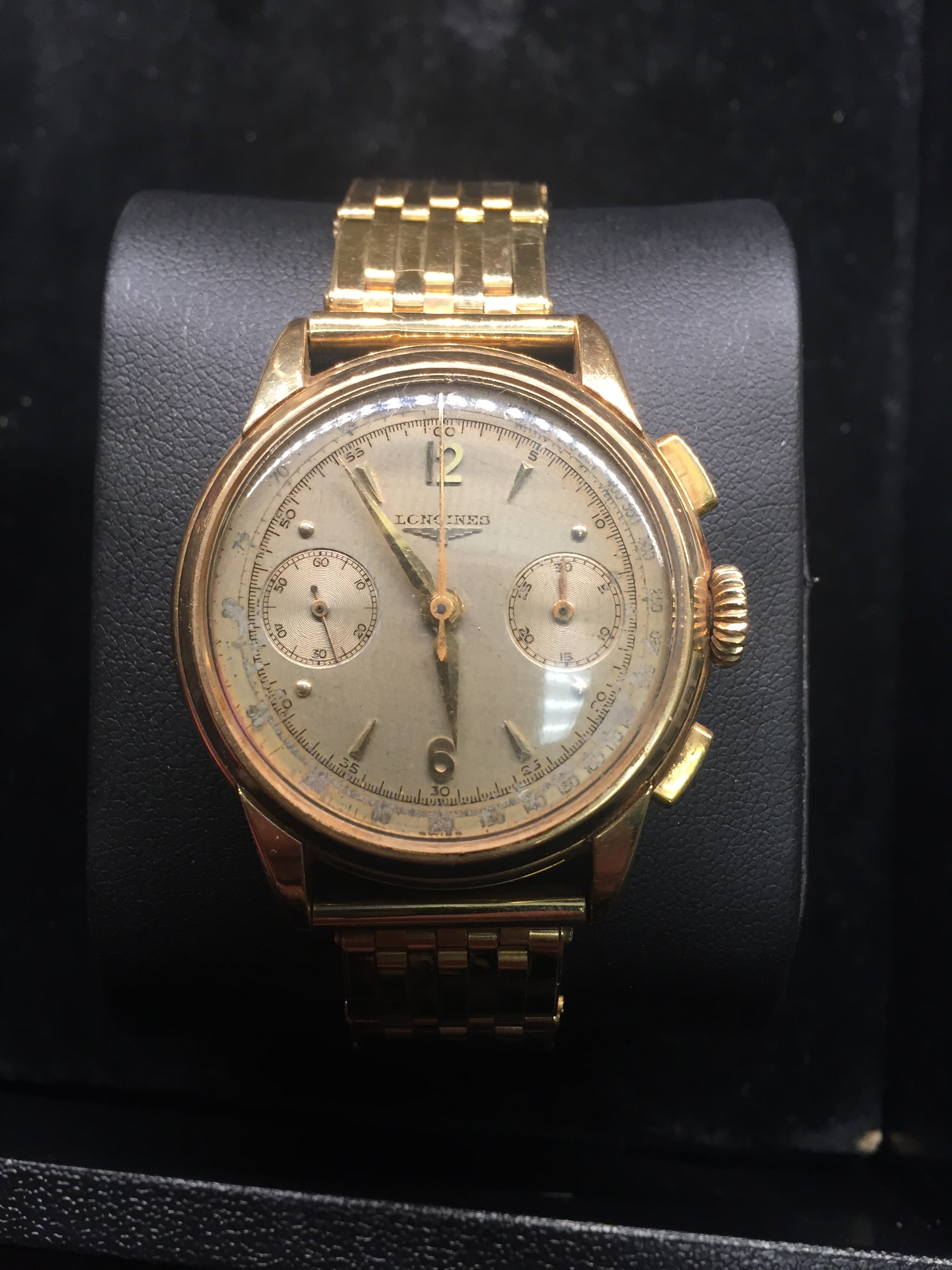 longines 18k s gold william youngerman