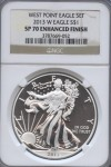 2013-W Silver Eagle Set SP 70 Enhanced | William Youngerman