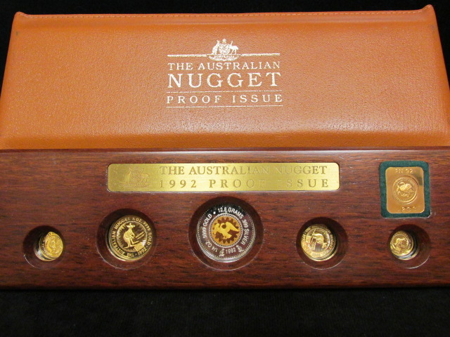 how to set a gold nugget