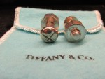 Sterling Silver Tiffany.co Cufflinks | William Youngerman
