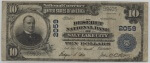 Salt Lake City, Utah 1902 Currency $10 | William Youngerman