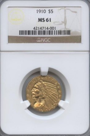 Old Gold Native American Coins | William Youngerman