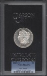 Morgan Silver Dollar | Carson City Silver | William Youngerman