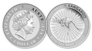 Get Brand new one ounce Silver Kangaroos come in rolls of 25 and cases of 250 Coins for your collection today!