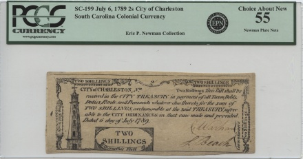 Old South Carolina Currency | William Youngerman