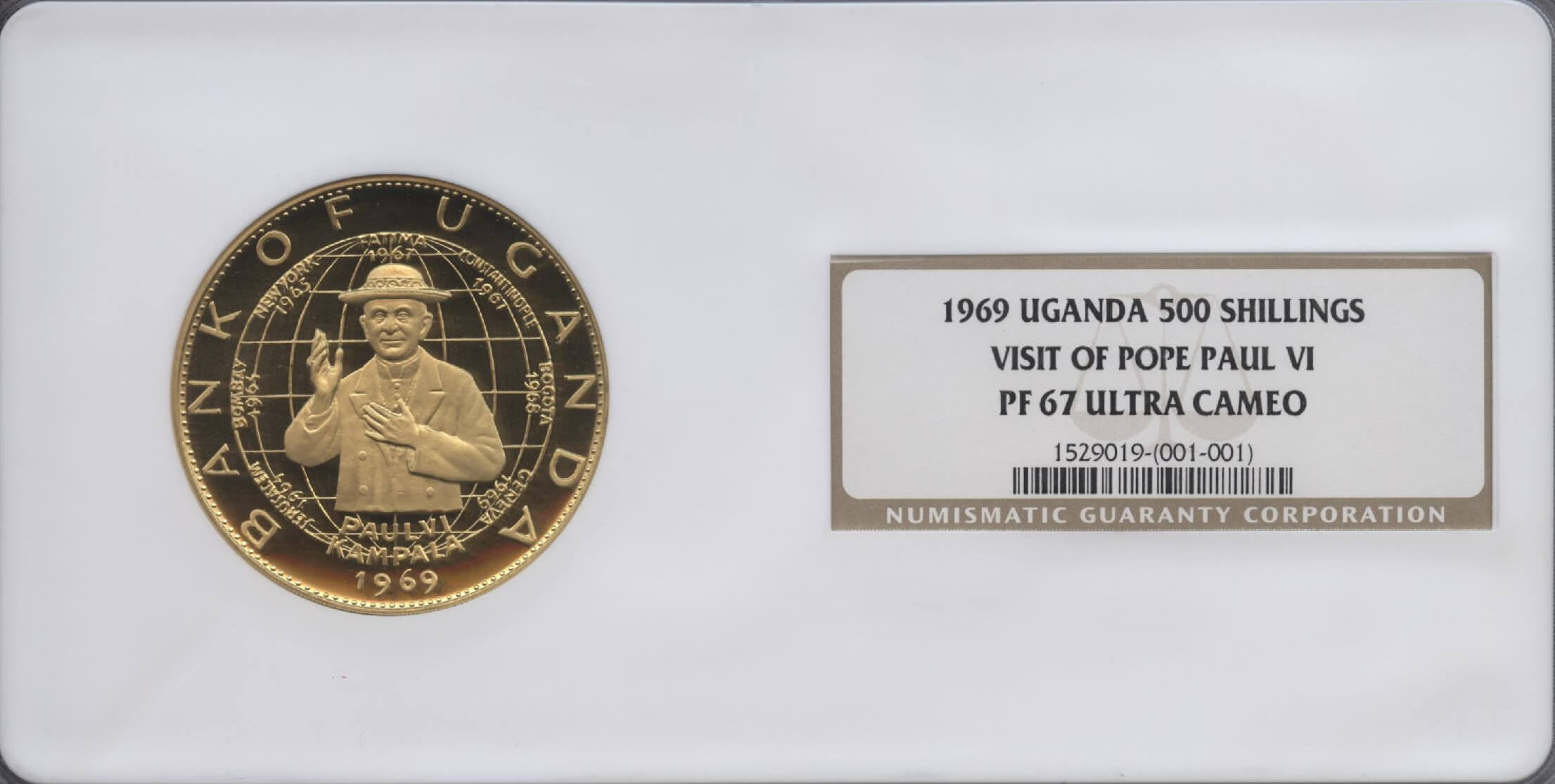 Uganda Coins | William Youngerman
