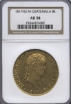 1817NG M Guatemala 8E NGC AU 58 | William Youngerman