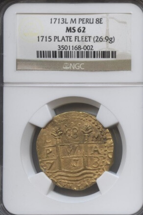 1713L M Peru 8E NGC 62 | William Youngerman
