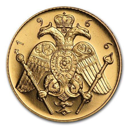 Cyprus Gold Coins