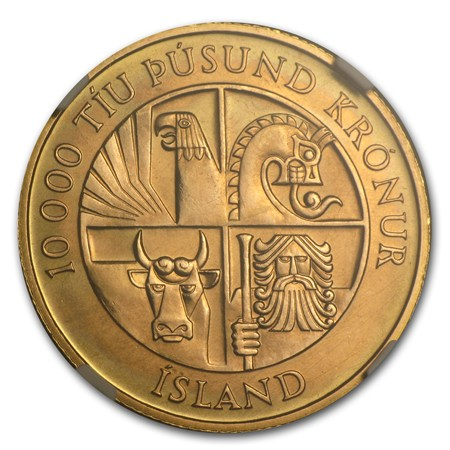Iceland Gold Coins